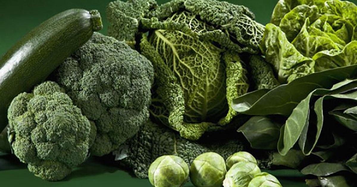 Sayuran Warna Hijau
