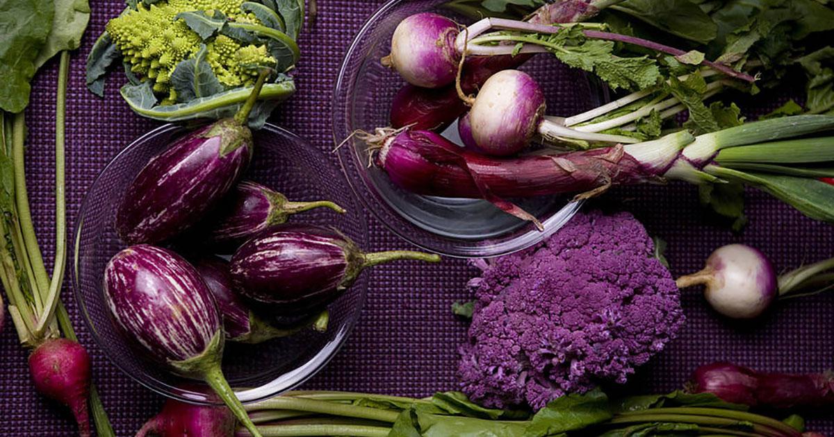Sayuran Warna Ungu